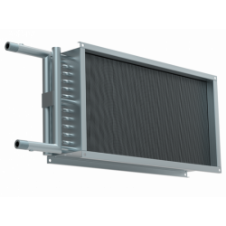 Водяной нагреватель для прямоугольных каналов WHR 300*150-2