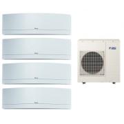 Мульти сплит-система Daikin 4MXS80E/FTXG20LW/FTXG25LW/FTXG25LW/FTXG25LW